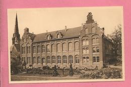 C.P. Nivelles =  Rue  St-Jean : Institut Des Soeurs De L' Union Au Sacré-Coeur  : Façade  Intérieure - Nivelles