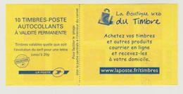France : Carnet  N° 4197 C15 - Marianne De Beaujard - Variante N°307649 à Gauche En Gras- - Booklets