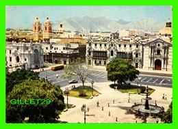 LIMA, PÉROU - PLAZA DE ARMAS - IN THE BACK GROUND, SAN FRANCISCO CHURCH 1546-1674 - EDICIONES DE ARTE REP - - Pérou