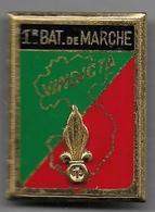 Légion 1er REI - 1er Bataillon De Marche - Insigne Drago Paris R75 - Heer
