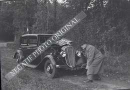 Voiture Automobile Chenard Et Walker Homme Demarre à La Manivelle NEGATIF PHOTO 4/4 - Cars