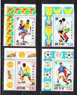 Barbuda   - 1974. Giocatori In Azione. Serie Da Sheets.  Players In Action. Fresh. MNH - Coppa Del Mondo