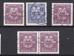 S134 – SUEDE – SWEDEN – 1943 – THE SHOOTING ASSOCIATION – MI 300/01 USED - Suède