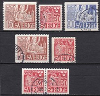SE141 – SUEDE – SWEDEN – 1946 – LUND CATHEDRAL – Y&T 317/18 USEDE - Used Stamps