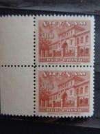 VIETNAM DU SUD 1956 Y&T N° 40 X 2 ** - 5e ANNIV. DE L'ENTREE DE L'UPU - Vietnam