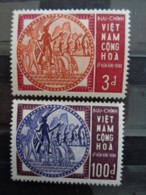 VIETNAM 1965 Y&T N° 254 & 255 **  - ANNIVERSAIRES D'HUNG VUONG - Vietnam
