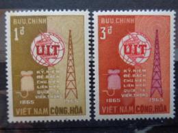 VIETNAM 1965 Y&T N° 259 & 260 **  - CENTENAIRE DE L' U.I.T. - Vietnam