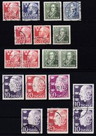 SE144 – SUEDE – SWEDEN – 1947 – FULL YEAR SET – Y&T 324/32 USED 11 € - Gebruikt