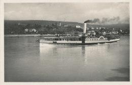Donau-Dampfschiff-Gesellschaft - Schaufelrad-Dampfer Habsburg - Paquebots