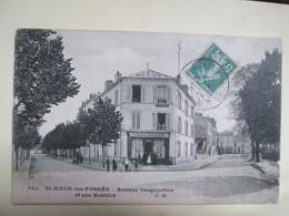 St Maur Des Fosses  Avenue Desgenettes . Et Rue Bobillot . Magasin De Cartes Postales - Saint Maur Des Fosses