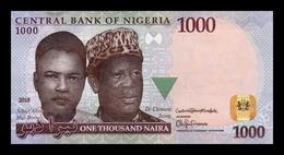 Nigeria 1000 Naira 2018 Pick 36p SC UNC - Nigeria