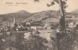 CARTOLINA VIAGGIATA PRIMI 900 GARESSIO-BORGO POGGIOLO (TY133 - Cuneo