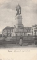 CARTOLINA NON VIAGGIATA PRIMI 900 CUNEO MONUMENTO A BARBAROUX (TY142 - Cuneo
