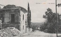 CARTOLINA VIAGGIATA 1926 GORIZIA VIA SALCANO (TY204 - Gorizia