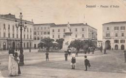 CARTOLINA VIAGGIATA 1921 SASSARI (angolo Non Perfetto) (TY407 - Sassari