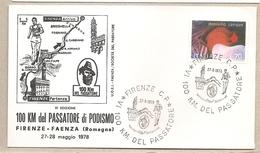 Italia - Busta Con Annullo Speciale: 6° 100 Km. Del Passatore A Firenze - 1978 - 6. 1946-.. Repubblica