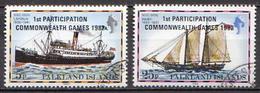 Falkland Used Pair - Ships