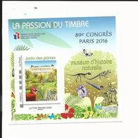 Bloc FFAP Passion Du Timbre 2016 - Paris - Blocs Souvenir