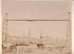 PHOTO - 44 - NANTES - Pont Transbordeur - Paquebot Oural (anvers) 1 - Lugares