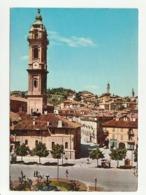 Cuneo - Saluzzo - Piazza Garibaldi E Scorcio Panoramico - Formato Grande - Colore Non Viaggiata - Cuneo