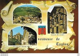 CPSM/gf (82) CAYLUS.  Souvenir De Caylus, Multivues. ..I 259 - Caylus