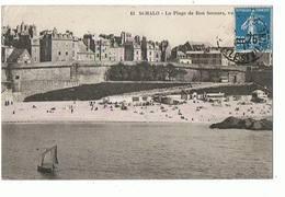 35 - SAINT MALO - La Plage De Bon Secours  - 1174 - Saint Malo