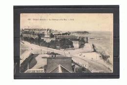 35 - SAINT MALO - Le Château Et La Mer  - 1175 - Saint Malo