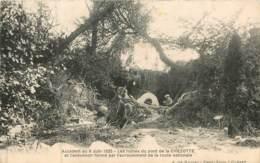 Dep - 23 - AHUN Environs , Les Ruines Du Pont De La CHEZOTTE Accident Du 6 Juin 1925 - Other Municipalities