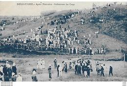 CPA MILITARIA.  DIEGO-SUAREZ (Madagascar). Après L'exécution, Enlèvement Des Corps...CO 524 - Madagascar