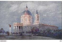 CPA ARTS. Illustrateur  GUERZONI.  Torino. Basilica Di Superga. .CO 287 - Autres Illustrateurs