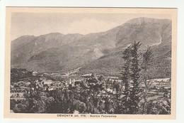 Cuneo - Demonte - (alt.778) - Scorcio Panoramico - Formato Piccolo - BN Non Viaggiata Doppione - Cuneo