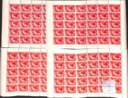 NN - [99509]TB//**/Mnh-NN - Belgique 1955 - N° 964, Charles Quint Les 4 Planches Complètes, Peu Courant, SNC - Nuovi