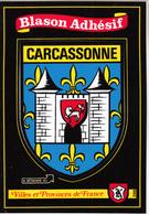 "Blason  Adhésif  "" CARCASSONNE "" - Carcassonne"