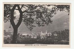 Cuneo - Demonte - (alt.778) -  Panorama - Formato Piccolo - BN Non Viaggiata - Cuneo
