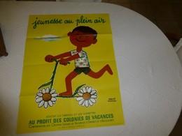 Jeunesse Au Plein Air, Hervé Morvan, Années 1950, RARE ; AFFI02 - Manifesti