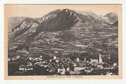 Cuneo - Demonte - (alt.778) -  Panorama - Formato Piccolo - BN Non Viaggiata (27) - Cuneo