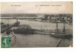 35 - SAINT MALO - Entrée Du Bassin  - 1192 - Saint Malo