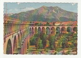 Cuneo - Viadotto Sulla Stura - La Bisalta - Formato Grande - Colore - Viaggiata 1963 (31) - Cuneo