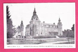 Château De Rendeux à M. Edmond Orban De Xivry éd. C. Baune A6 Imp. L. Van Der Aa CPA Non Circ. - Rendeux