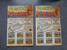 PAMCOQ Petits Amis De Cochon-Quinette, Lot De 2 BD N°12, 1957 ; PAP10 - Magazines Et Périodiques