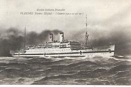 Guerre 14/18-Navire Hôpital Flandre - Guerre 1914-18