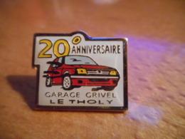 A048 -- Pin's Garage Grivel Le Tholy 20eme Anniversaire - Pins