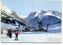 Alpe Du Grand Serre. Station Teleski. Dans Le Fond, Le Massif Du Pic De Larmet. CPSM Edit Cim - Autres Communes