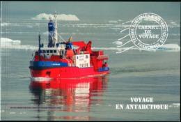 FRENCH ANTARCTIC TERRITORIES TAAF FSAT 2013 Voyage Penguins Birds Animals Fauna Prestige Booklet Carnet MNH - Pingueinos