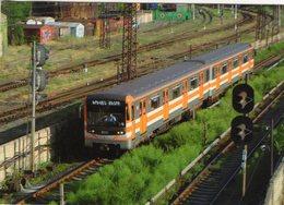 Underground Series 81-717 Of Yerevan Metro (Armenia) In 2013 -  CPM - Trains