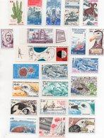 TAAF - Lot De 22 Timbres Neufs - Terres Australes Et Antarctiques Françaises (TAAF)