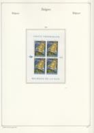 Belgie  .  10 Pagina' S Met Zegels       .   **    .      Postfris    . /  .   Neuf SANS  Charniere - Belgium