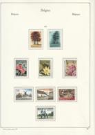 Belgie  .  10 Pagina' S Met Zegels       .   **    .      Postfris    . /  .   Neuf SANS  Charniere - Unused Stamps
