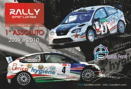 Tematica - Motorsport - Rally Sperlonga  1° Assoluto 2009-2010 -  Luca Ferri - - Rally Racing