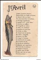 Fêtes Voeux Poisson D'avril 1er Avril - 1° Aprile (pesce Di Aprile)
